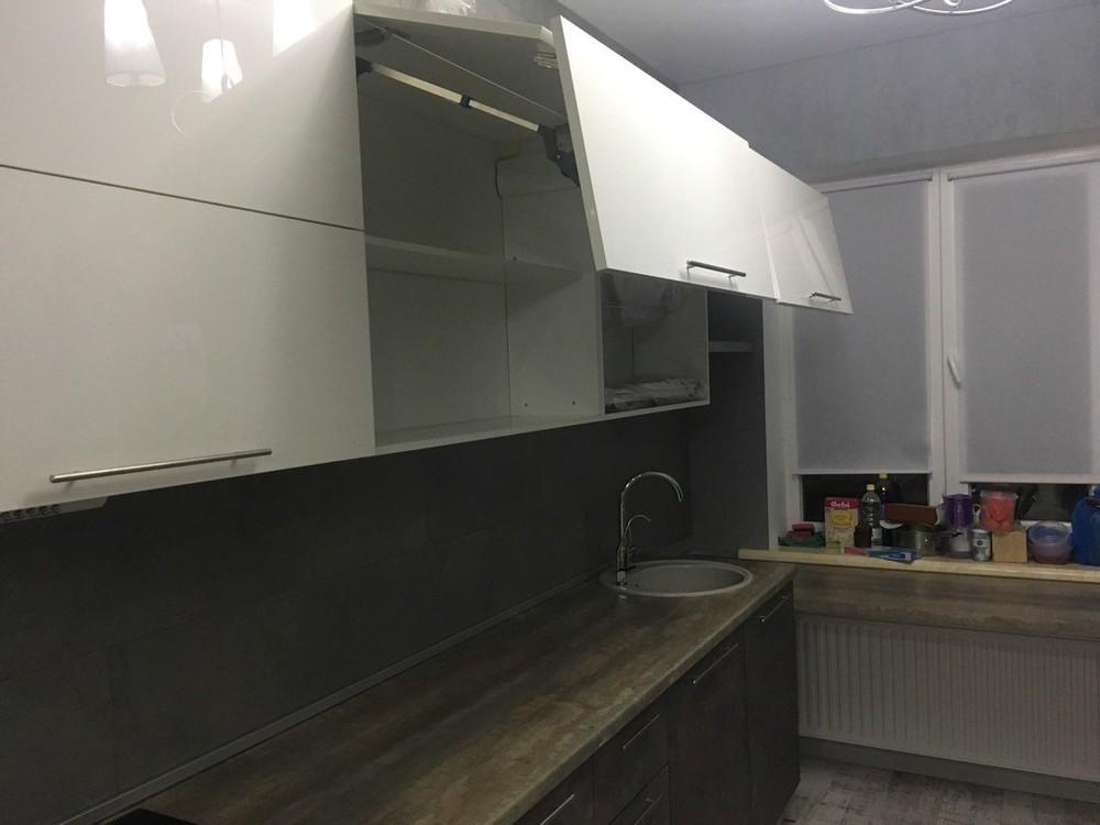 Акриловые кухни-Кухня МДФ в эмали «Модель 159»-фото3
