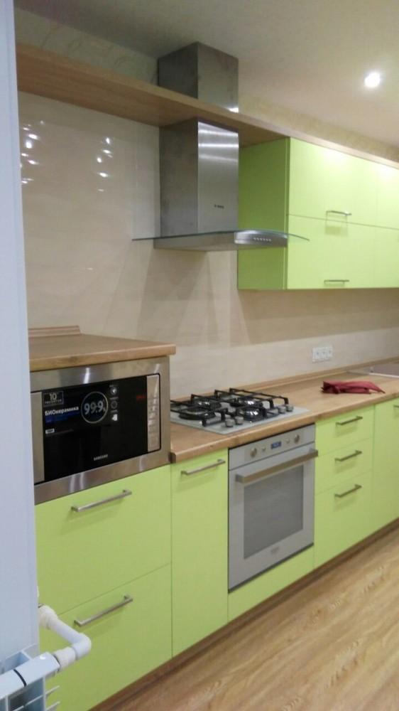 Встроенная кухня-Кухня МДФ в ПВХ «Модель 194»-фото2