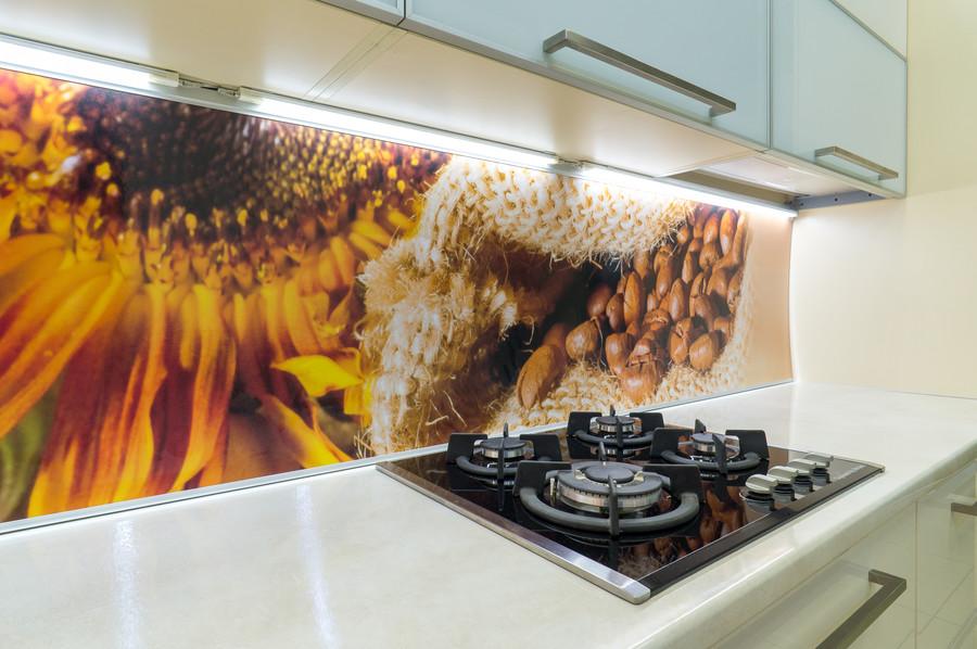 Белый кухонный гарнитур-Кухня МДФ в пластике «Модель 56»-фото5