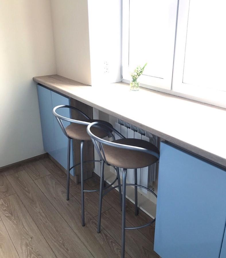Встроенная кухня-Кухня МДФ в ПВХ «Модель 37»-фото2
