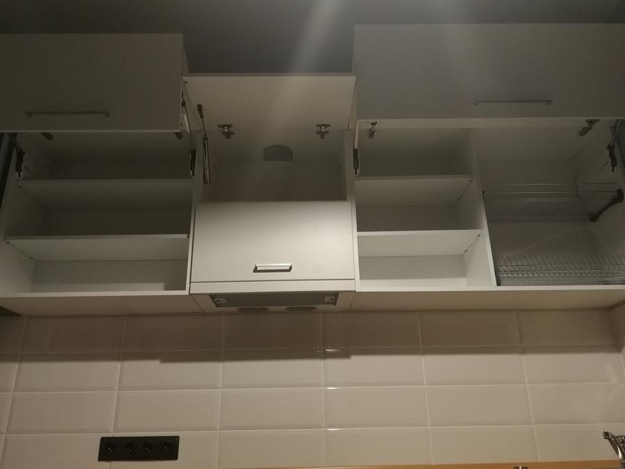 Купить зеленую кухню-Кухня МДФ в пластике «Модель 19»-фото5
