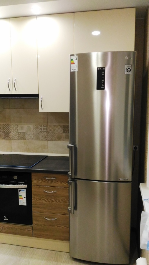 Белый кухонный гарнитур-Кухня МДФ в ПВХ «Модель 36»-фото3
