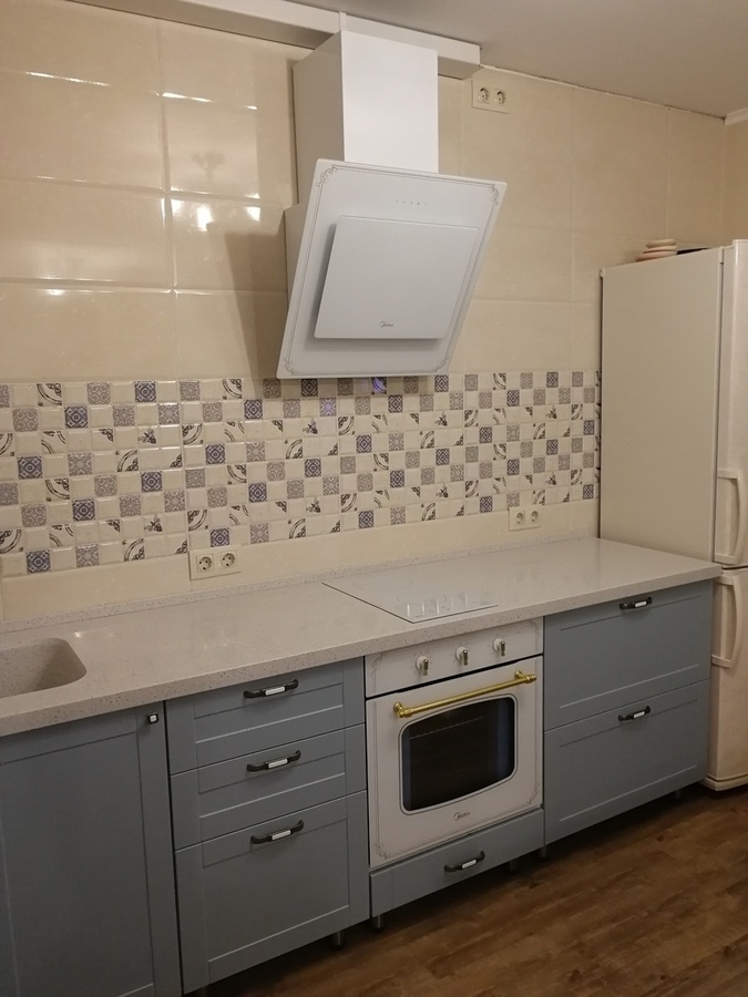 Классические кухни-Кухня МДФ в ПВХ «Модель 28»-фото8
