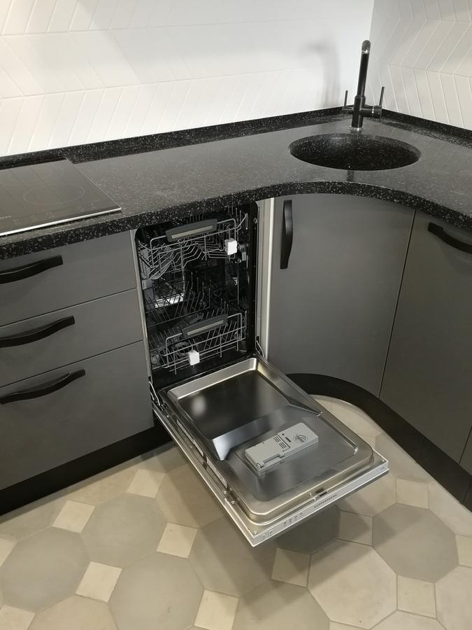 Белый кухонный гарнитур-Кухня МДФ в ПВХ «Модель 29»-фото6