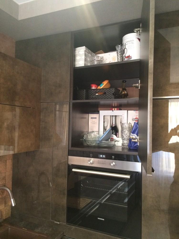 Акриловые кухни-Кухня из пластика «Модель 113»-фото9