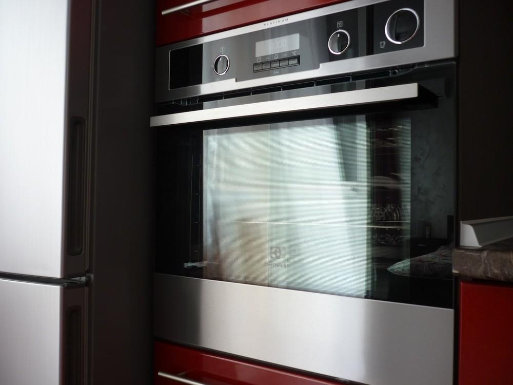 Встроенная кухня-Кухня МДФ в ПВХ «Модель 264»-фото9