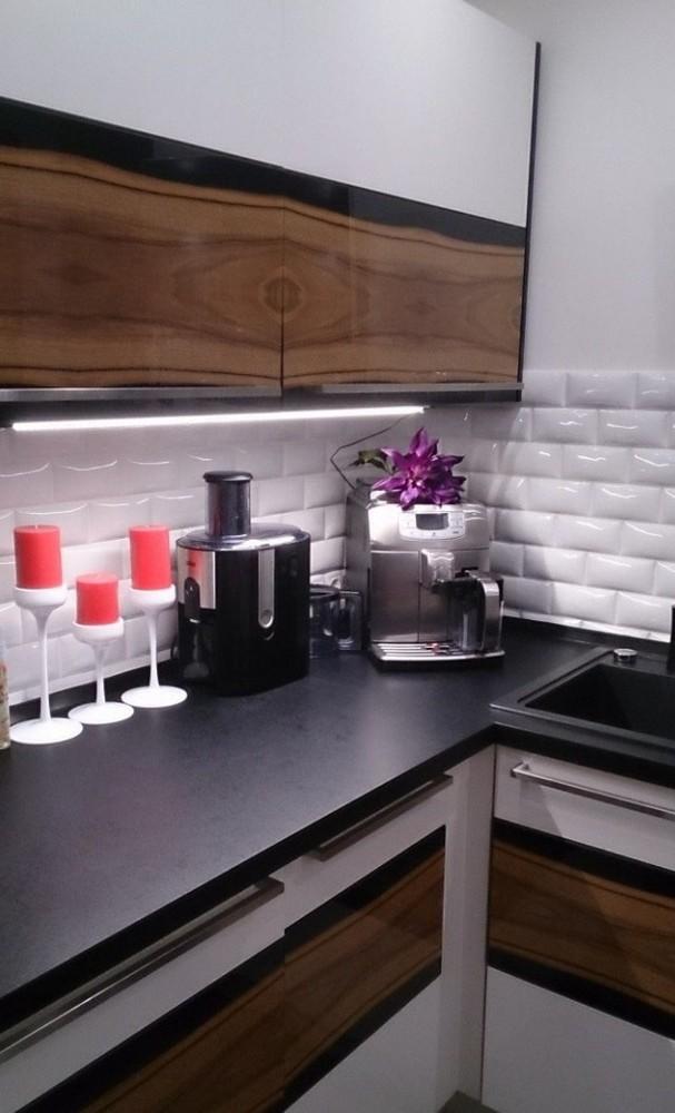 Встроенная кухня-Кухня МДФ в ПВХ «Модель 258»-фото2