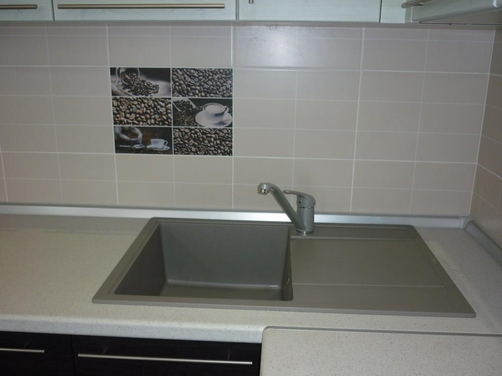 Встроенная кухня-Кухня МДФ в ПВХ «Модель 254»-фото3