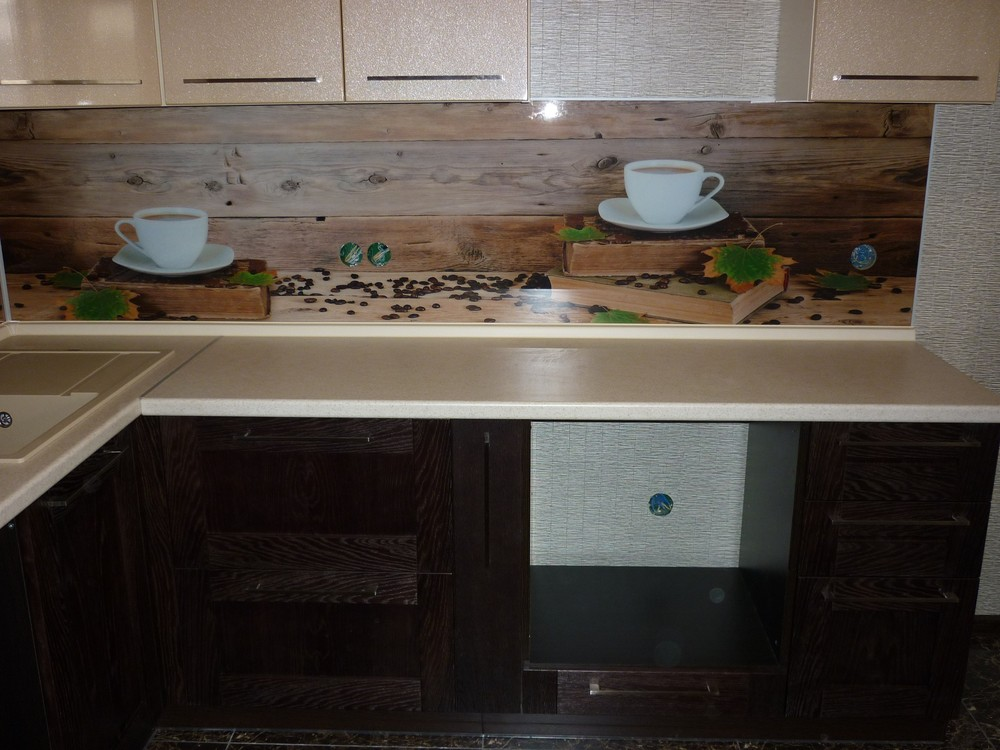 Купить кухню-Кухня МДФ в ПВХ «Модель 243»-фото2