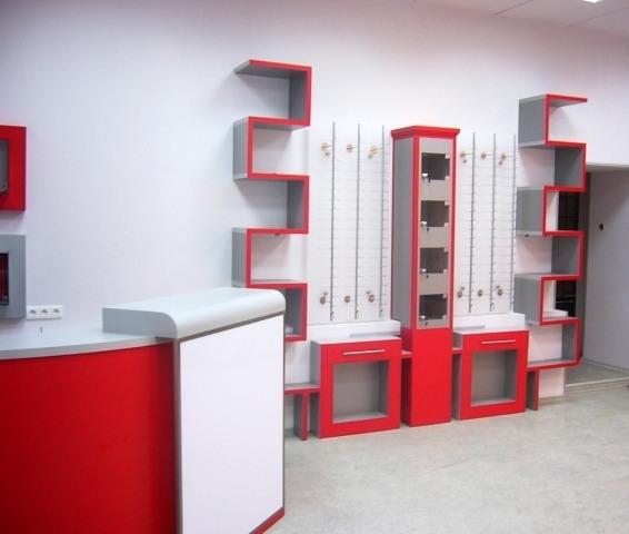 Торговая мебель-Мебель для оптики «Модель 196»-фото6