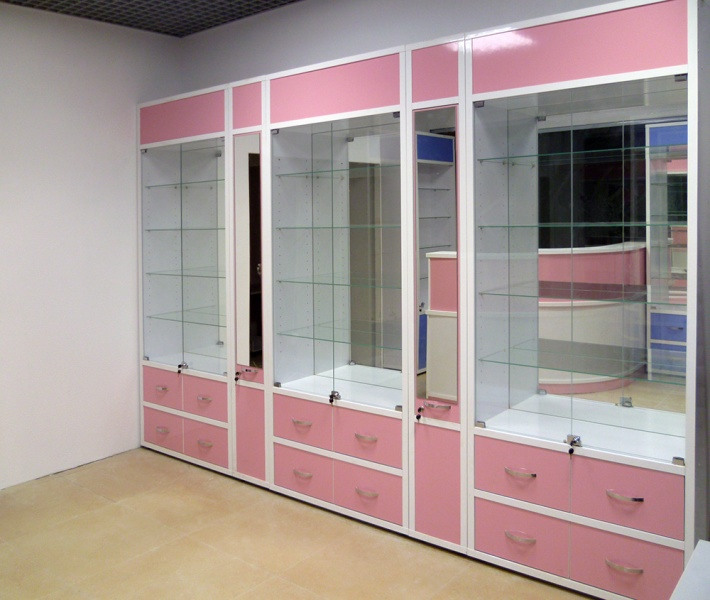 Торговая мебель-Мебель для оптики «Модель 212»-фото1