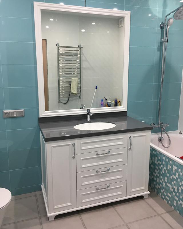 Мебель для ванной комнаты-Мебель для ванной «Модель 8»-фото1