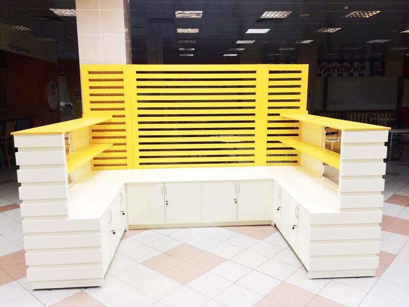 Торговая мебель-Торговый островок «Модель 267»-фото2