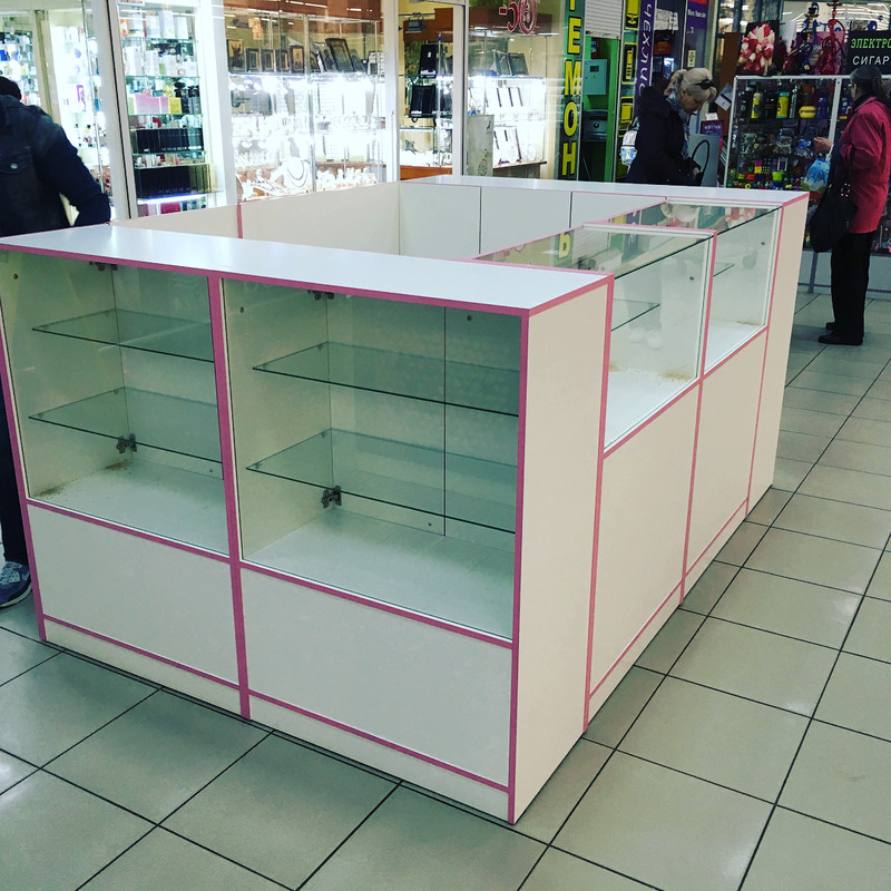 Торговая мебель-Торговый островок «Модель 266»-фото2