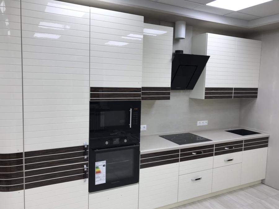 Белый кухонный гарнитур-Кухня «Модель 477»-фото1