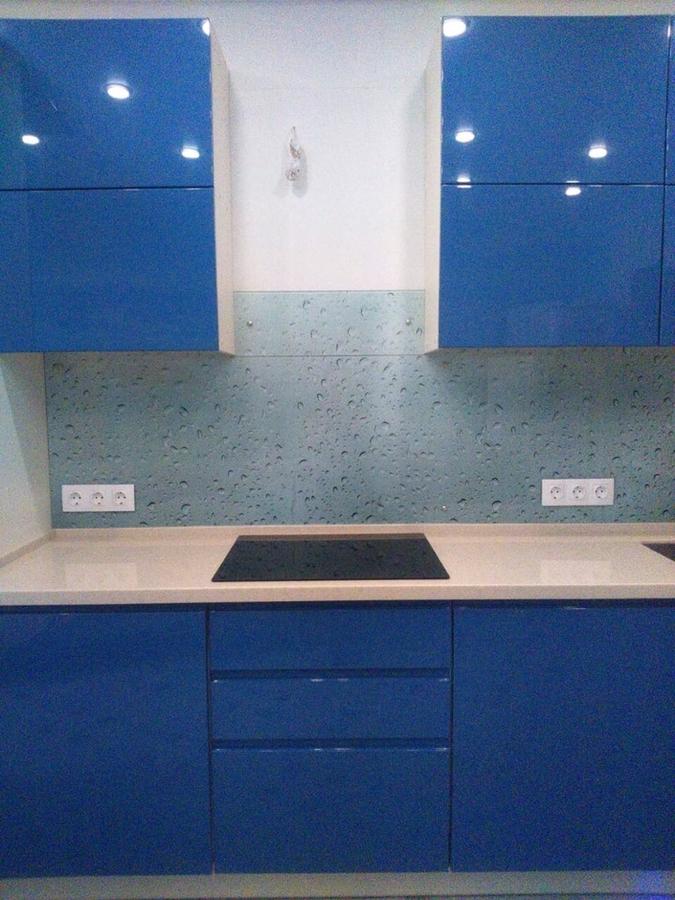 Глянцевые кухни-Кухня МДФ в эмали «Модель 428»-фото5