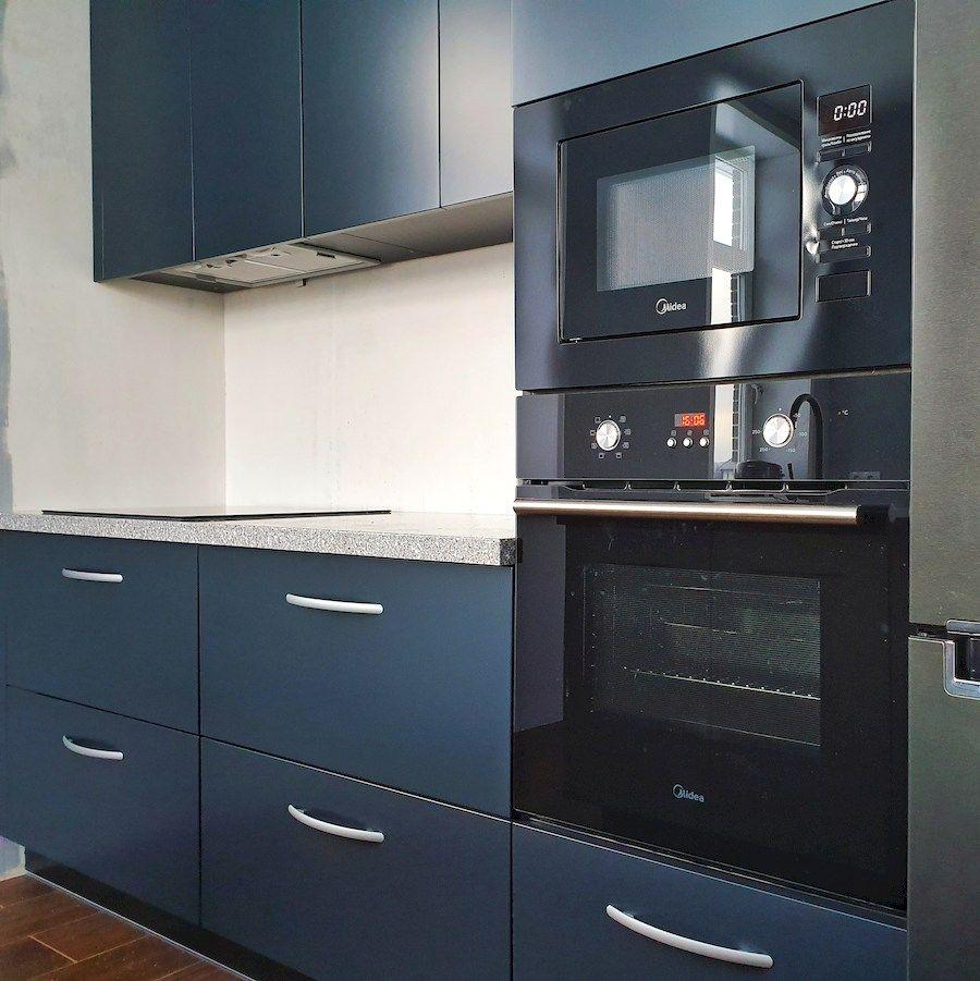 Купить кухню-Кухня МДФ в эмали «Модель 557»-фото3