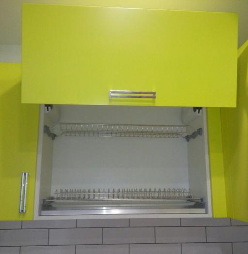 Акриловые кухни-Кухня из пластика «Модель 225»-фото6