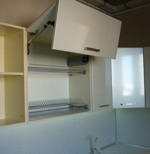 Встроенная кухня-Кухня МДФ в ПВХ «Модель 233»-фото5