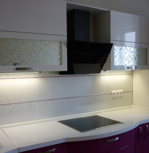 -Кухня МДФ в эмали «Модель 237»-фото8
