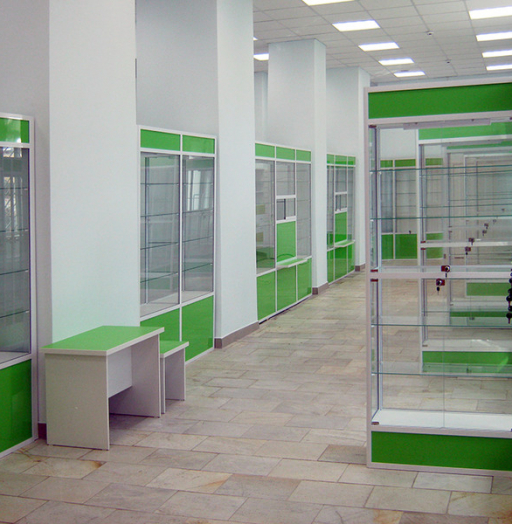 Торговая мебель-Мебель для аптеки «Модель 192»-фото5