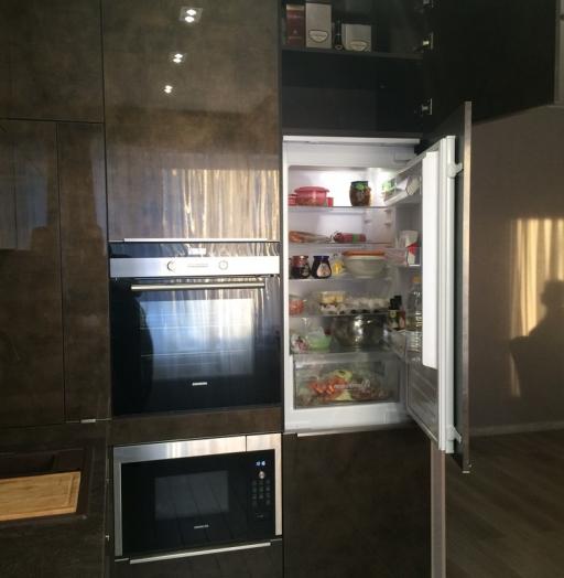 Акриловые кухни-Кухня из пластика «Модель 113»-фото11