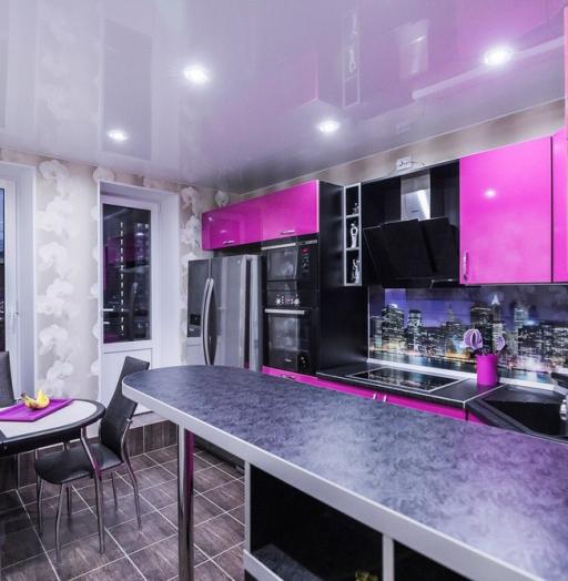 -Кухня МДФ в эмали «Модель 115»-фото3
