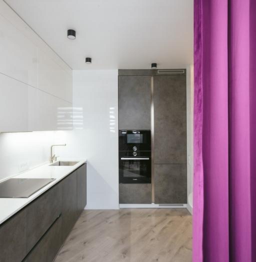 Белый кухонный гарнитур-Кухня из ЛДСП «Модель 416»-фото4