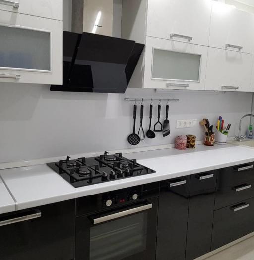 Белый кухонный гарнитур-Кухня «Модель 478»-фото9
