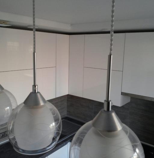 Белый кухонный гарнитур-Кухня из пластика «Модель 361»-фото5