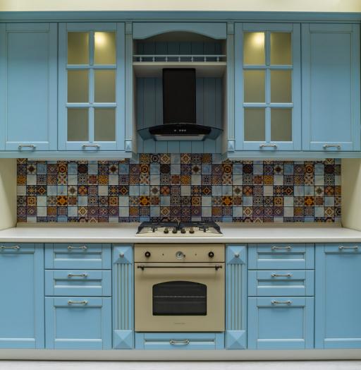 -Кухня МДФ в ПВХ «Модель 54»-фото20