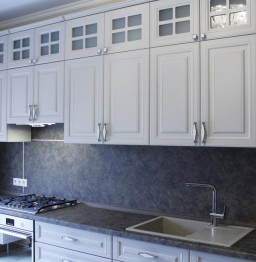 -Кухня МДФ в ПВХ «Модель 147»-фото10