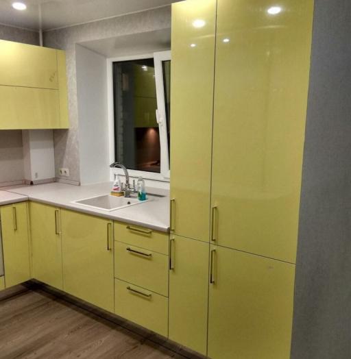 -Кухня МДФ в эмали «Модель 163»-фото4