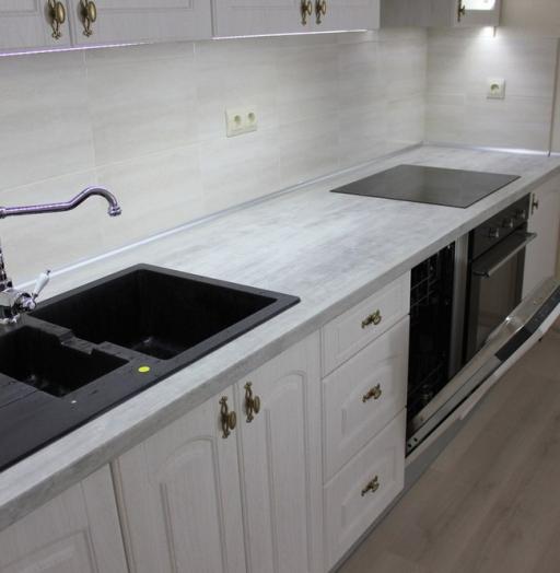 -Кухня из пластика «Модель 185»-фото29