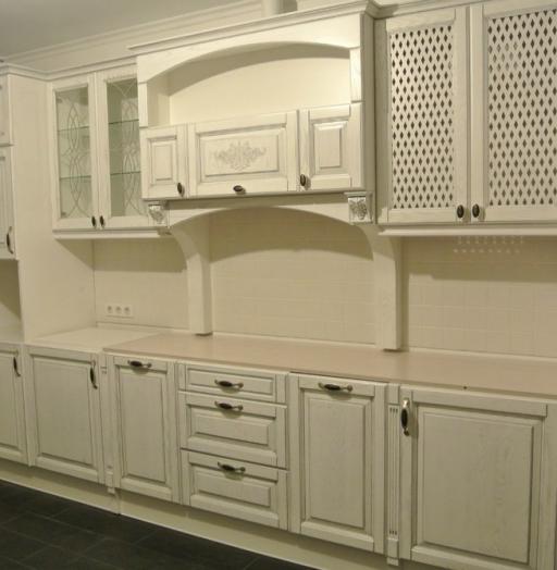 Белый кухонный гарнитур-Кухня МДФ в ПВХ «Модель 187»-фото5