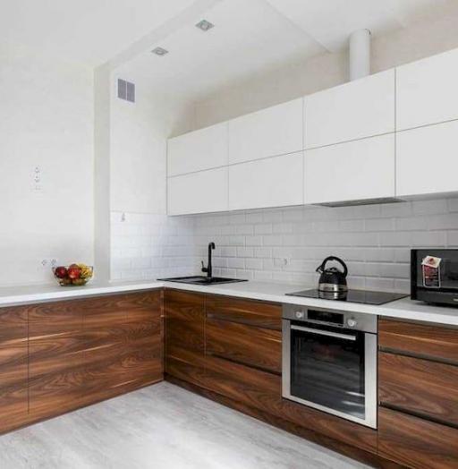 Купить кухню-Кухня из пластика «Модель 635»-фото4